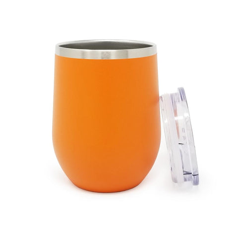 12 oz. Wine Tumbler - Orange