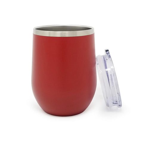 12 oz. Wine Tumbler - Red