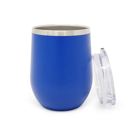 12 oz. Wine Tumbler - Royal Blue