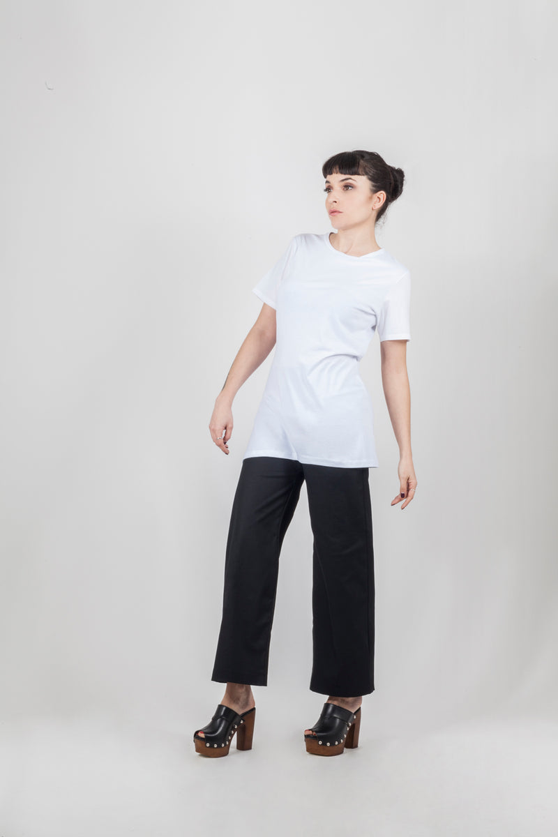 Cotton Popeline short sleeves top - Natural Born Humans Store