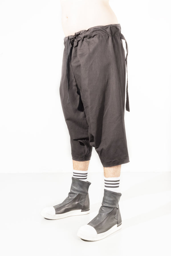 Low Crotch Linen Pant