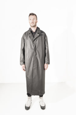 Waxed Long coat - Natural Born Humans Store