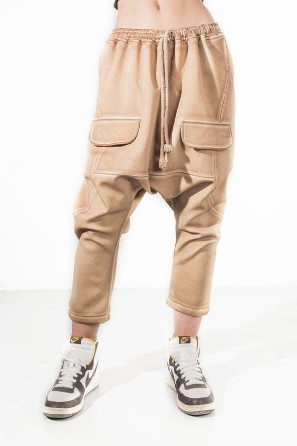 Desert waistband Pockets Pant - Natural Born Humans Store