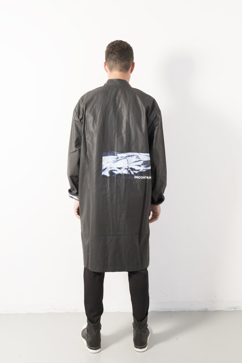 Korean Patch Coat - Natural Born Humans Store