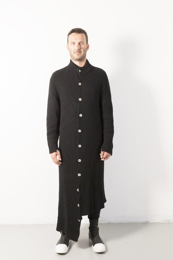 Wool Long Buttons Coat