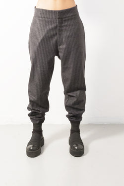 Wool Pinstripe Pant - Natural Born Humans Store