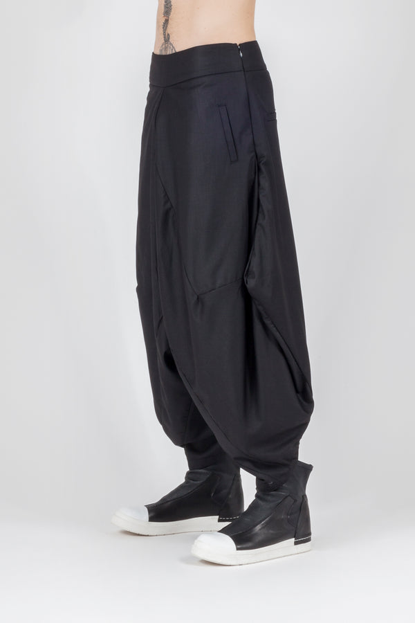 Oversize avantgarde pant - Natural Born Humans Store