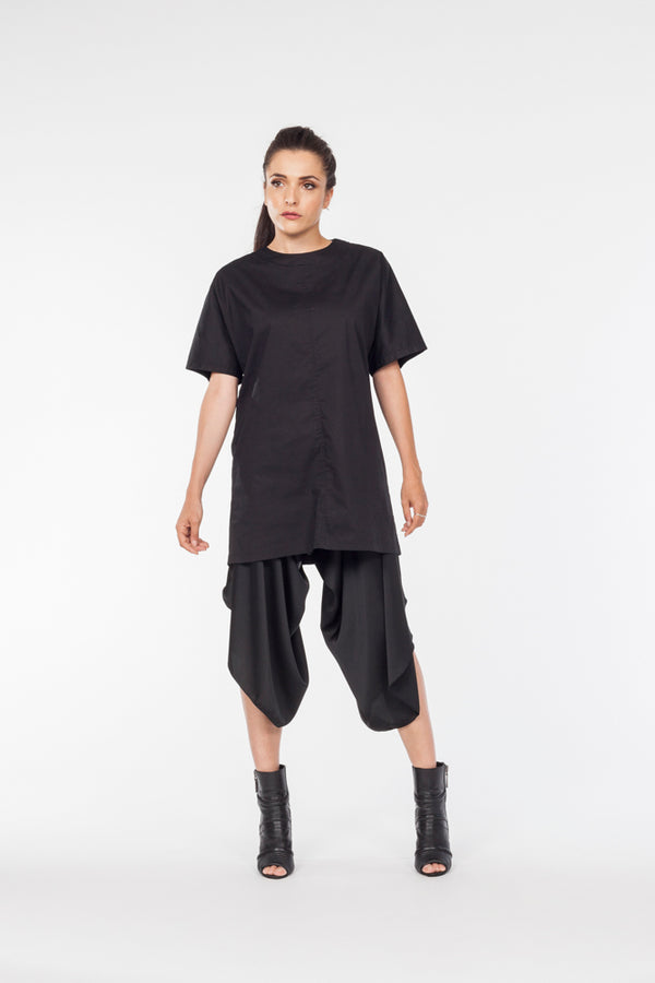 Black kimono top - Natural Born Humans Store