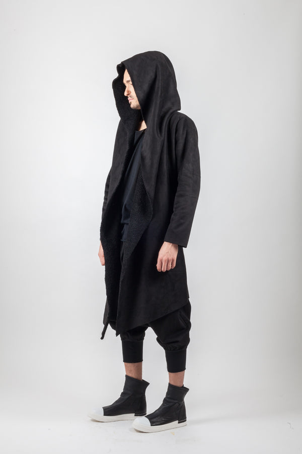 Conceptual Long Blend Coat - Natural Born Humans Store