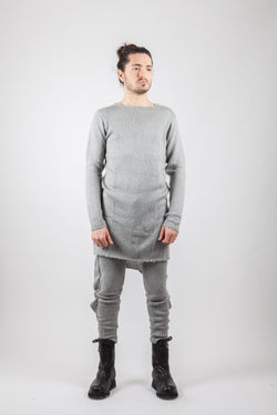 Wool Sweater apron knit - Natural Born Humans Store