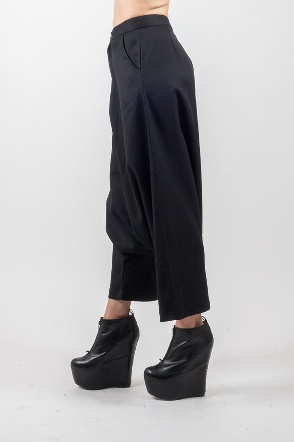 Elegant Low Crotch Trouser - Natural Born Humans Store