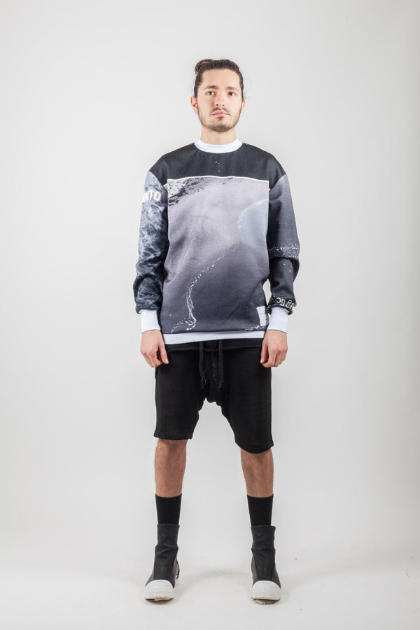 Ocean Sweatshirt - Natural Born Humans Store