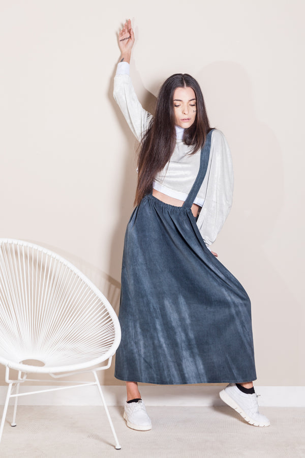 Suspender skirt - Natural Born Humans Store