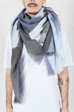 camouflage light colors scarf - Natural Born Humans Store