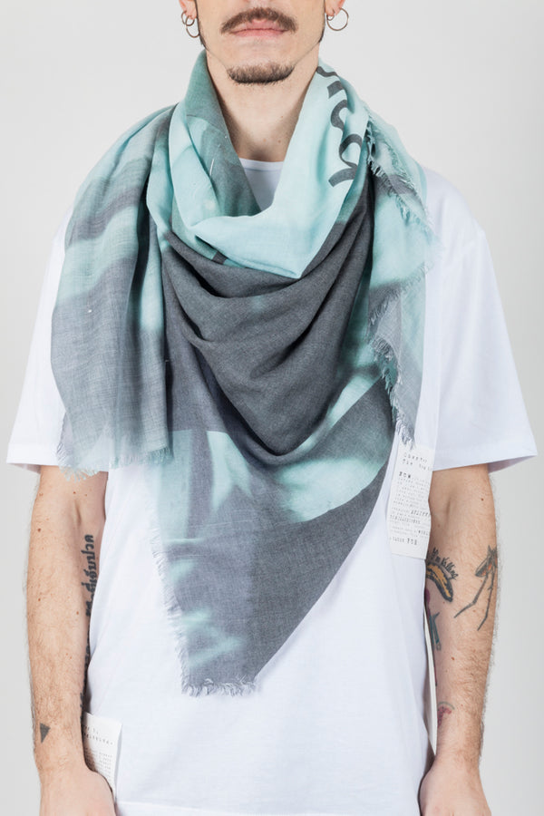 Mint green scarf