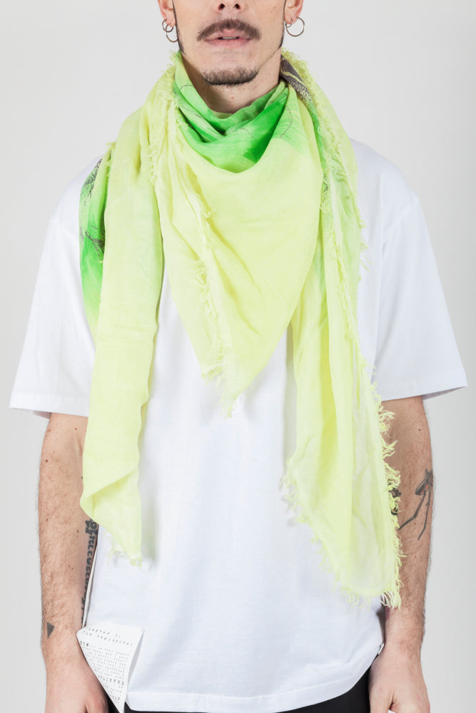 Yellow limon scarf - Natural Born Humans Store