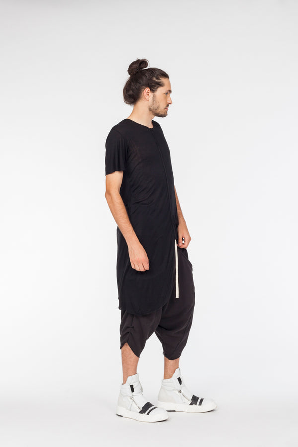 Asymetric long seam tshirt