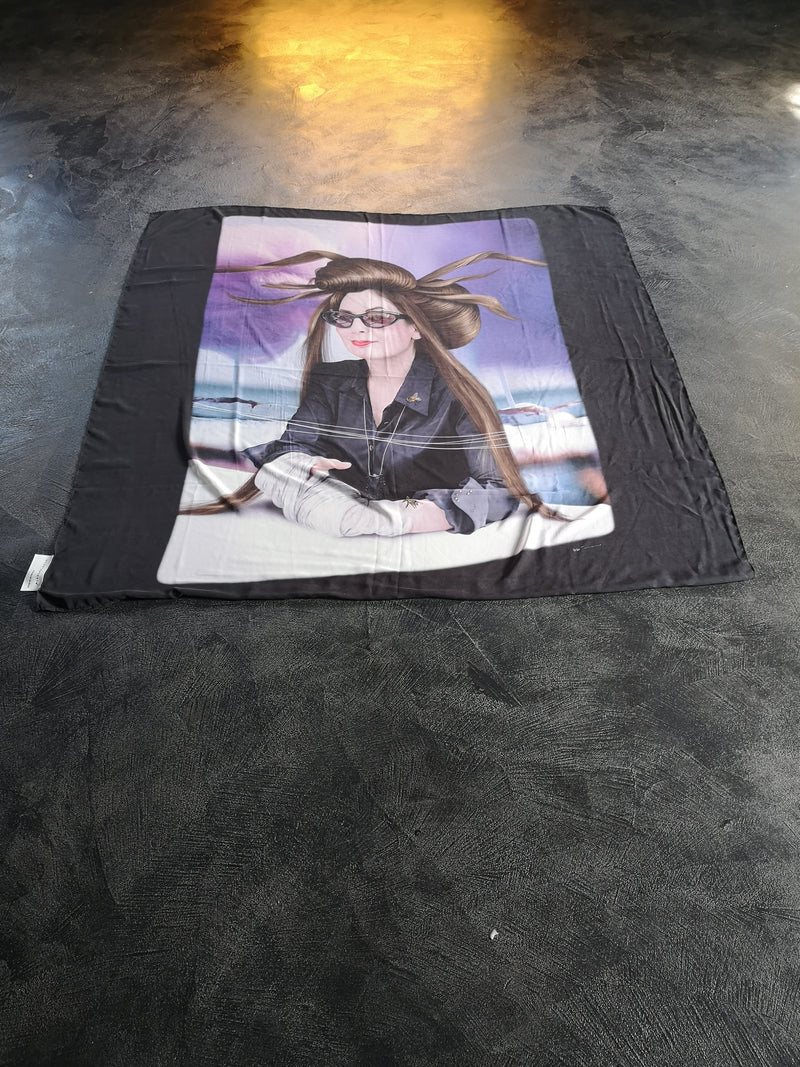Diane Pernet Scarf by Saul Zanolary Limited Edition - PRE ORDER - Natural Born Humans Store