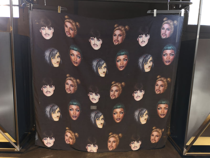 Famous Face Scarf by Saul Zanolari in Pre-Order - Natural Born Humans Store