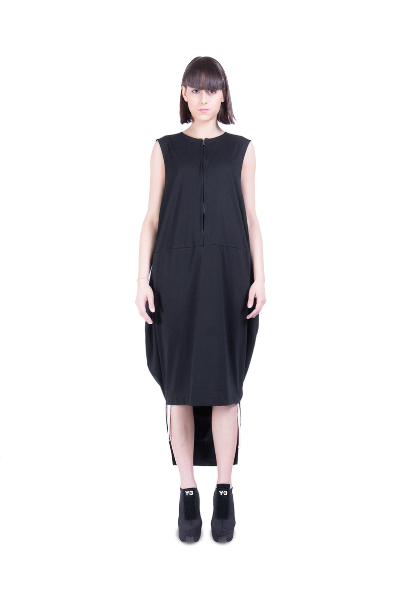 Front Zip Dress - Natural Born Humans Store