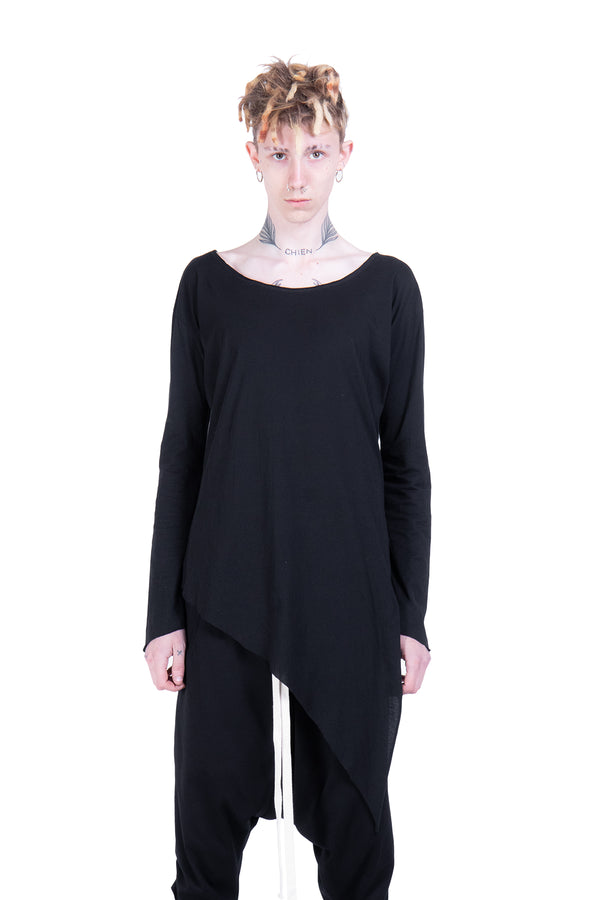 Long Sleeves Cotton Top