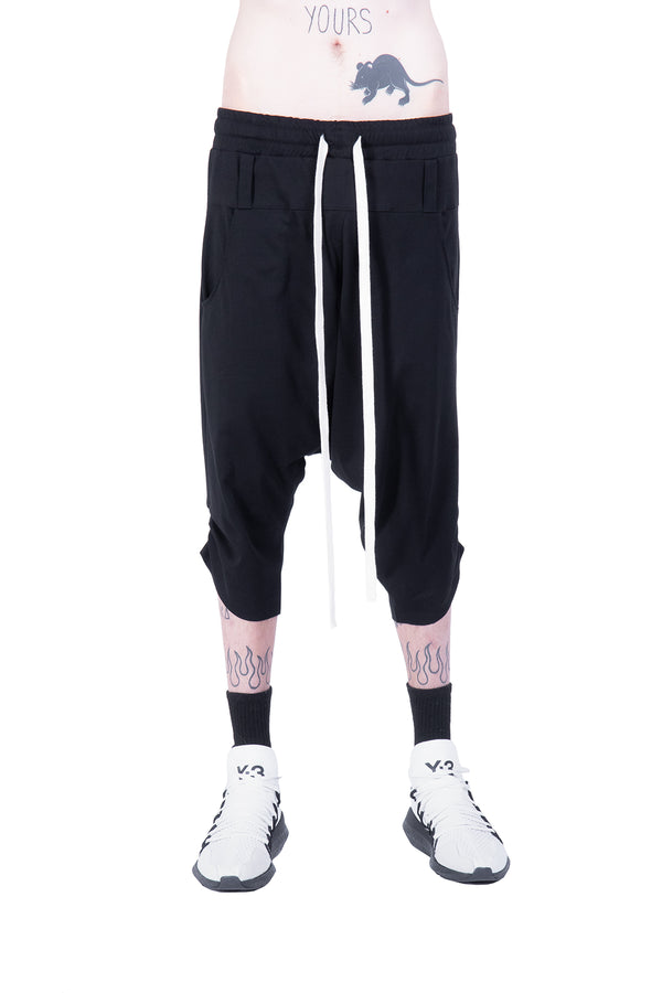 Low crotch capri pants - Natural Born Humans Store