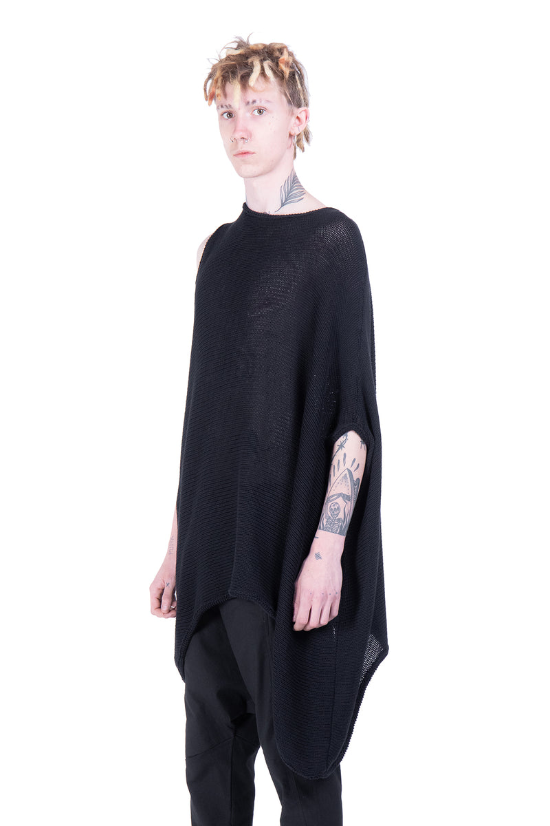 Batwing Sleeve knit sweatshirt - Natural Born Humans Store