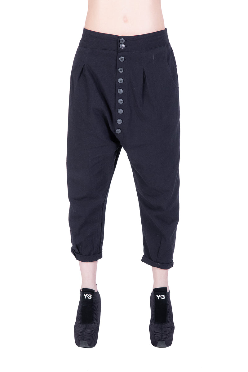 Button Pant - Natural Born Humans Store