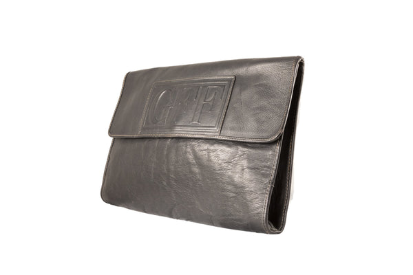 Gianfranco Ferrè Vintage Leather Pochette