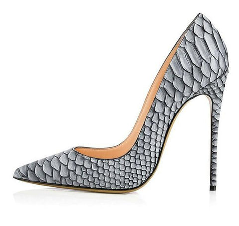Crocodile High Heels Shoes