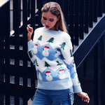 Snowman Christmas Tree Pullovers