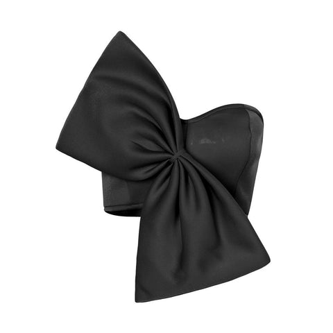 Bandeau Bow Top