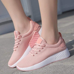 Autumn and Winter Ladies New Sports Shoes Running Shoes Breathable Casual Shoes - spiffy-fashion-boutique