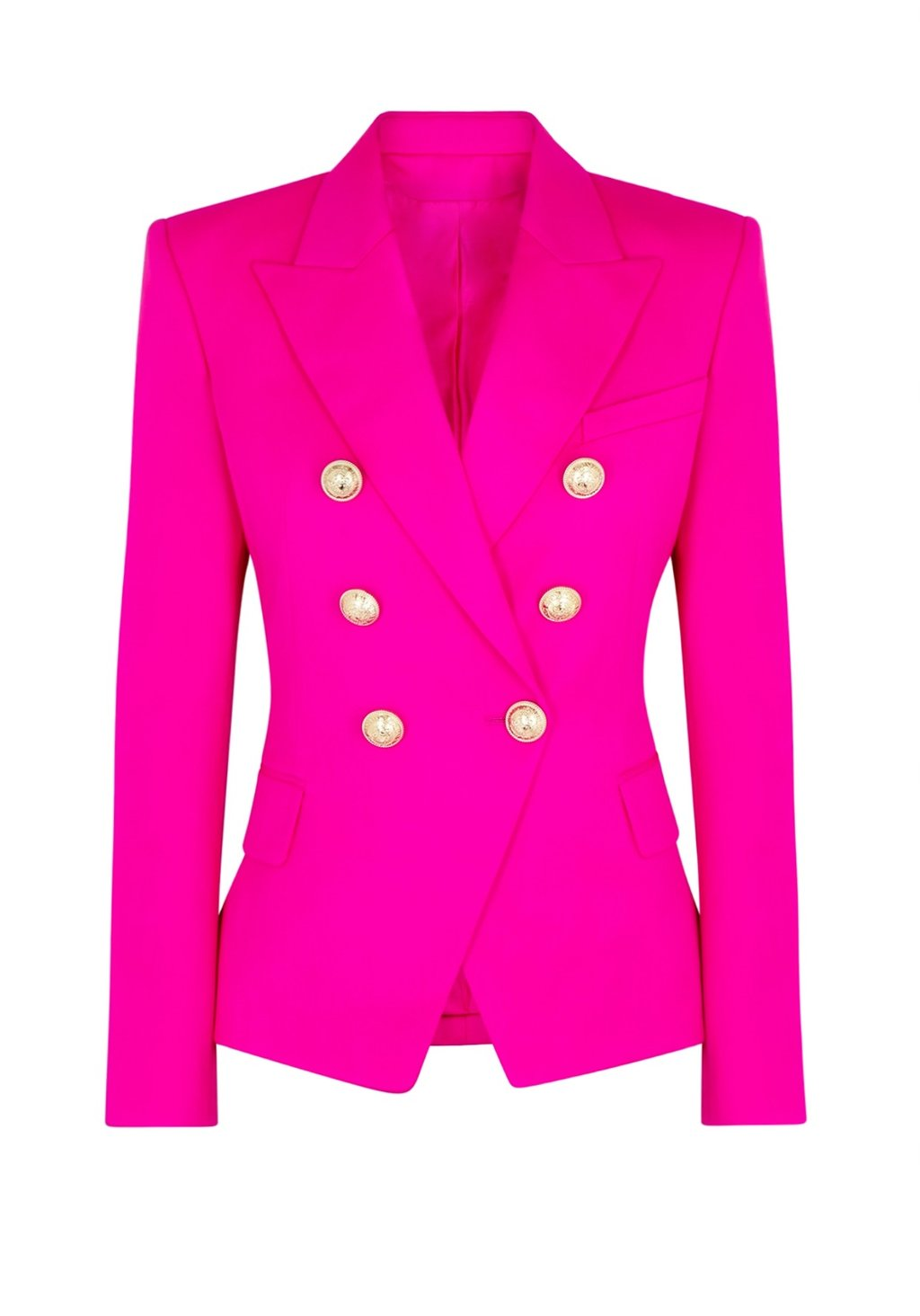 Limited Neon Electric Pink Blazer