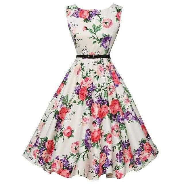 Flower Casual Party Dress - spiffy-fashion-boutique