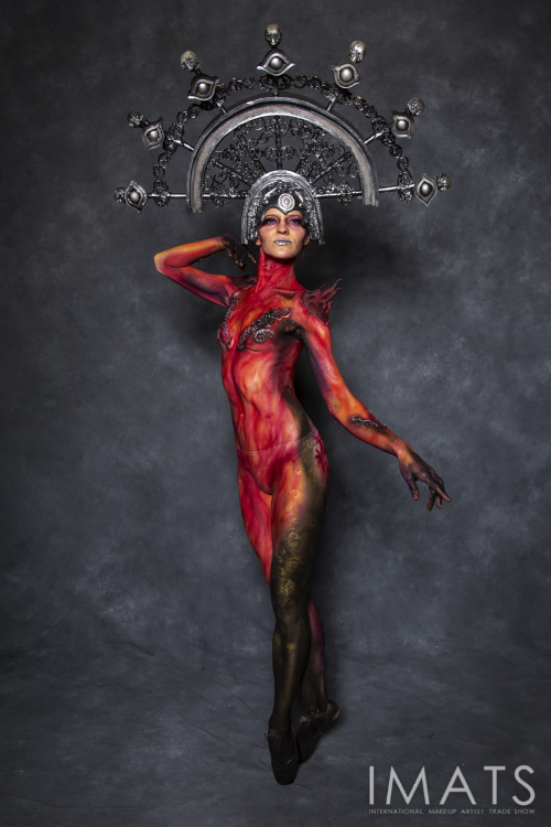 IMATS 2019 Bodypaint Demo for Mel Products