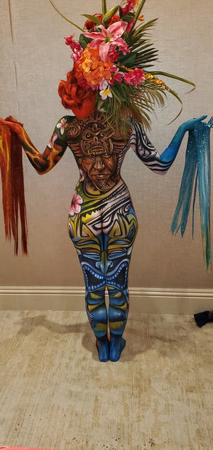 Avi Ram's Award Winning Bodypaint @ FABAIC2019 using Snatch Patch