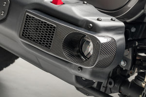 JL-JX Edition Aero Carbon Fiber Fog Light Covers