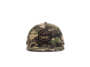 Venomrex Diamond All-Terrain Gold & Camo Snapback Hat