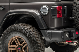 Jeep JL-JX Edition Aero Carbon Fiber Rear Fenders