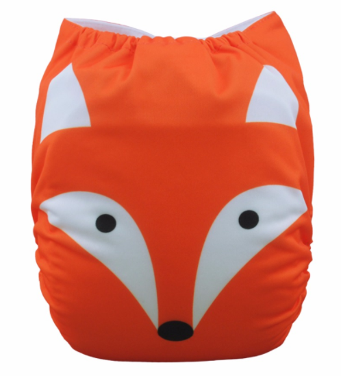 Fox Face - Baby Diapers