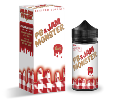 PB & JAM MONSTER STRAWBERRY