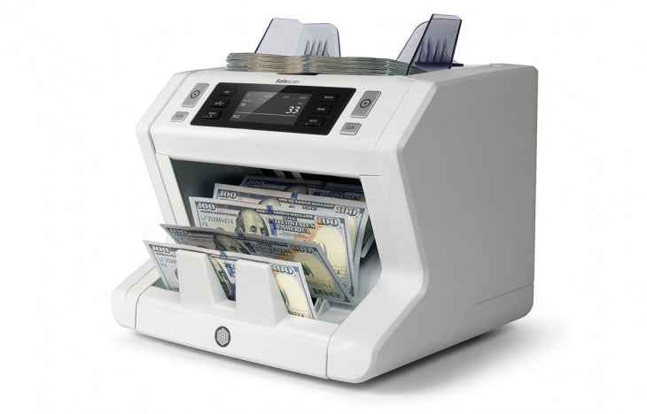 Bill Counter - Safescan 2650 with UV/MG Counterfeit Detection