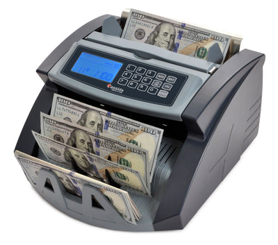 Cash Counter - Cassida 5520 Series with ValuCount UV or UV/MG Counterfeit Detection