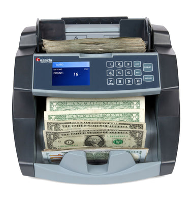 Currency Counter - Cassida 6600 Series with ValuCount & UV or UV/MG Counterfeit Detection