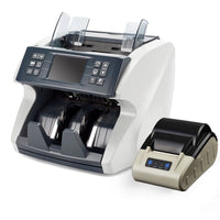 currency coutning machine with printer