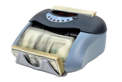 Currency Counter - Cassida Tiger Series with UV or UV/MG Counterfeit Detection