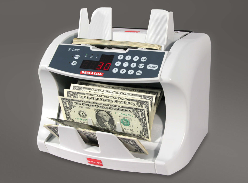 Currency Counter - Semacon S-1200 US Bank Grade US