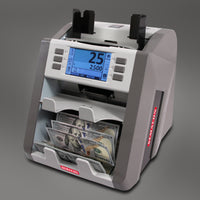Mixed Bill Counter Semacon S-2500 Bank Grade Two Pocket Currency Discriminator - Call Us for a Quote!  800-238-0469