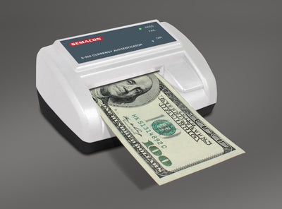 Semacon S-950 Automatic Currency Authenticator / Counterfeit Detector